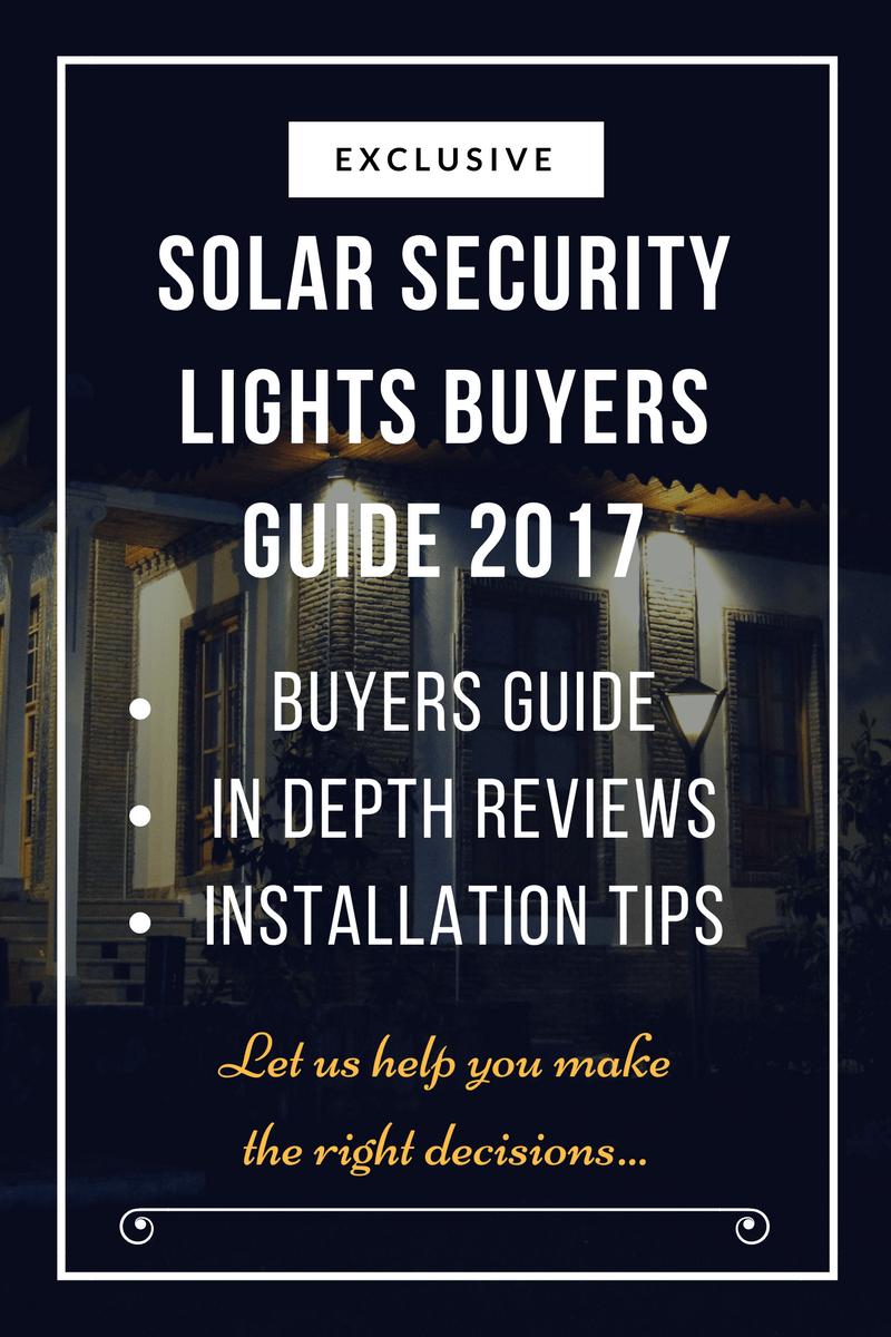 solar security lights header