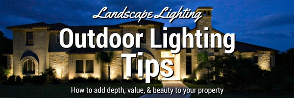 Landscape lighting outdoor lighting tips the solar advantage landscape lighting tips aloadofball Choice Image
