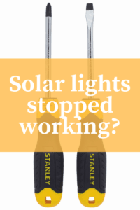 How to fix solar lights? – Troubleshooting and Disassembly Tips