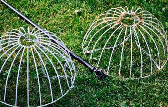 garden globe basket