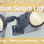 Motion Sensor Lights – How to Buy the Best