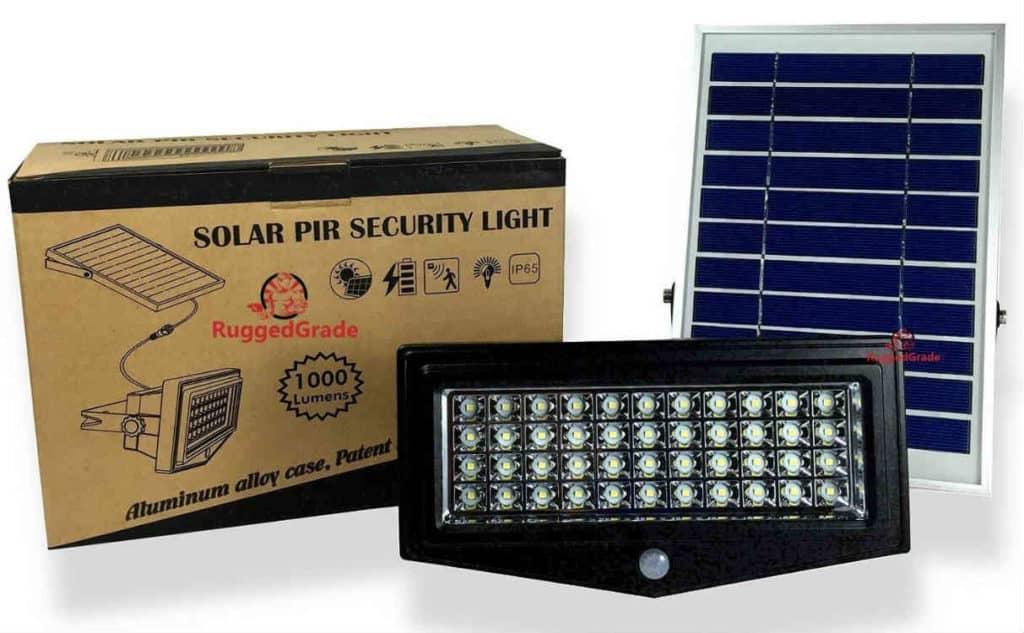 Best solar security lights full break down and buyers guide ruggedgrade best solar security light aloadofball Images