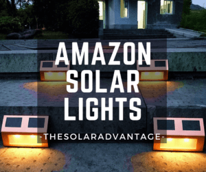 Light up your home's exterior with Amazon Solar Lights