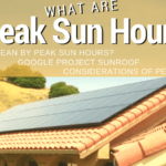 What does 'Peak Sun Hours' mean?