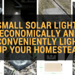 Small Solar Lights Economically and Conveniently light up your homestead