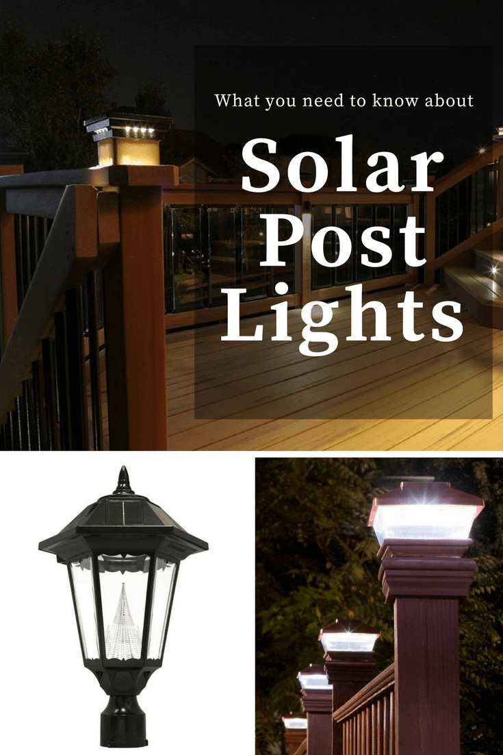 What you need to know about Solar Post Lights - The Solar ... Fence Post Lights Wiring Diagram on