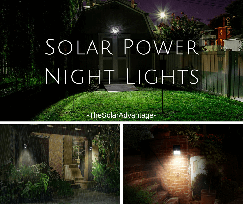 Why You Should Opt For Solar Night Lights The