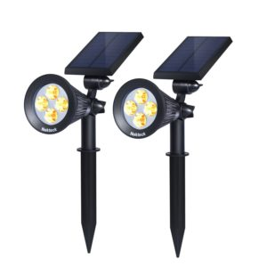nekteck solar spot lights