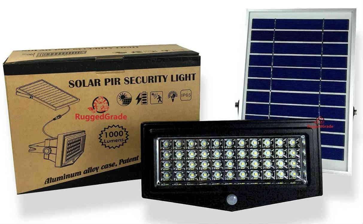 Best solar security lights full break down and buyers guide ruggedgrade best solar flood light aloadofball Choice Image