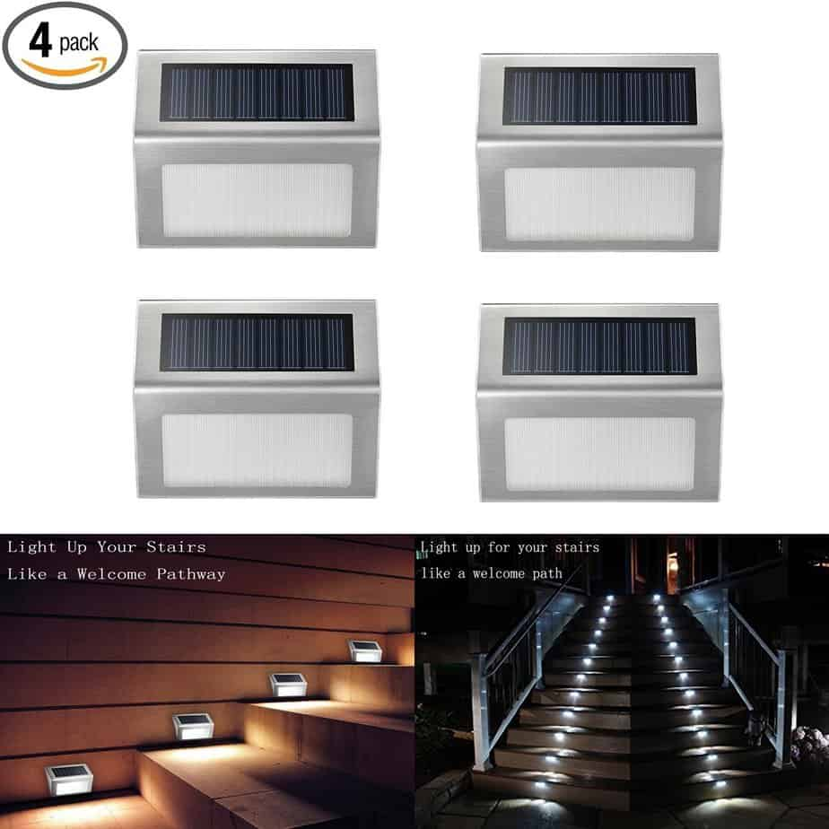 Our Top 12 Best Solar Deck Lights & Buyers Guide + Reviews