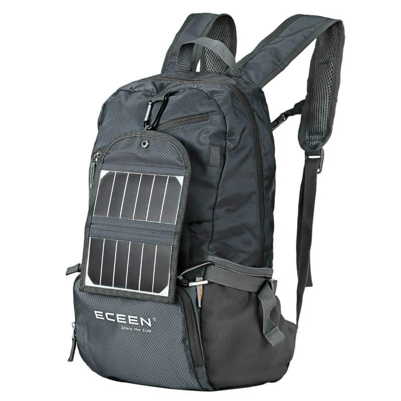 Eceen Lightweight Solar Backpack