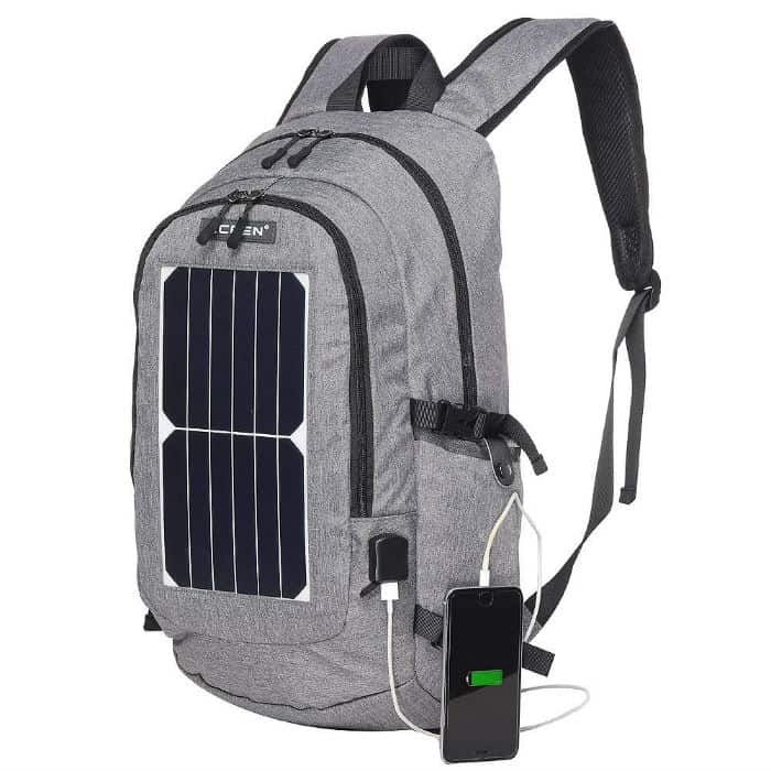 Eceen Solar Hiking Backpack