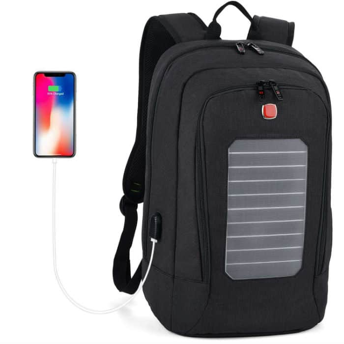 Fanspack Solar Laptop Backpack