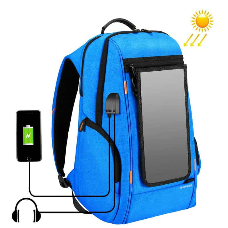 Haweel Best Value Solar Backpack