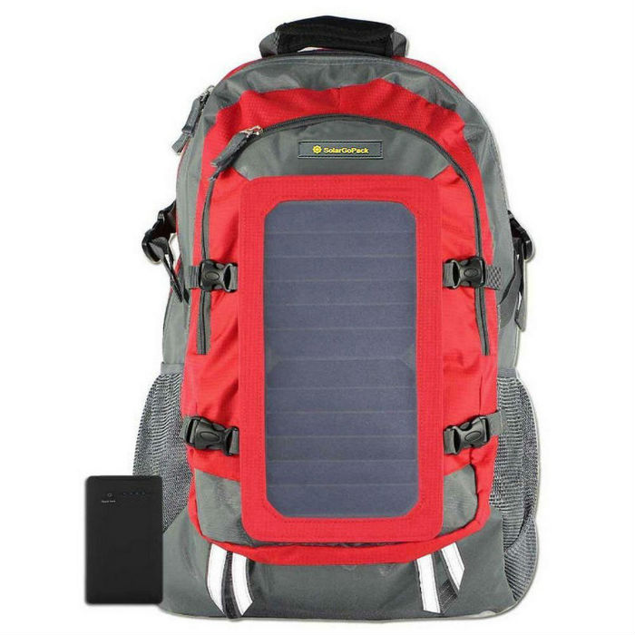 SolarGoPak 7-Watt Solar Backpack