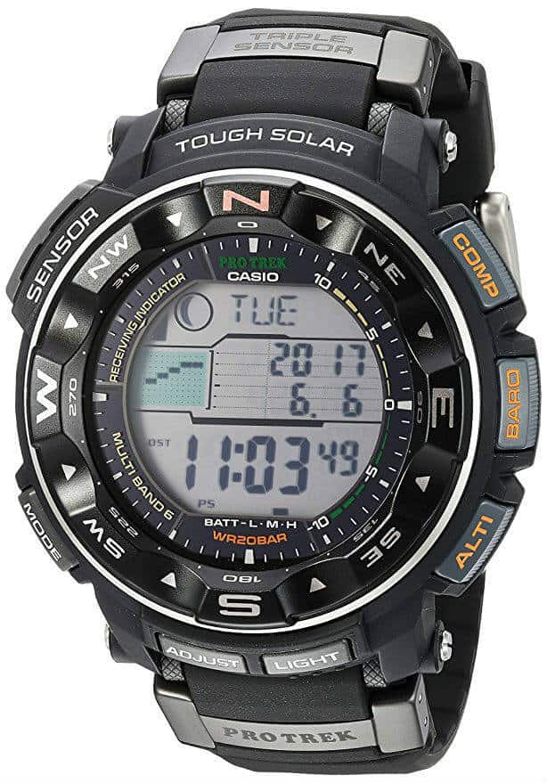 2 - Casio Men's PRW-2500R Pro Trek
