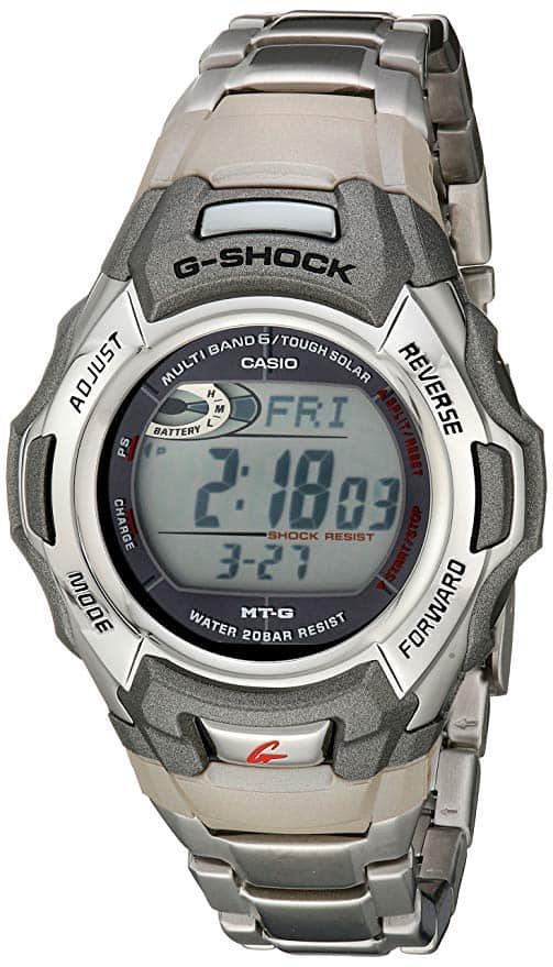 4 - Casio Men's G-Shock Stainless Watch