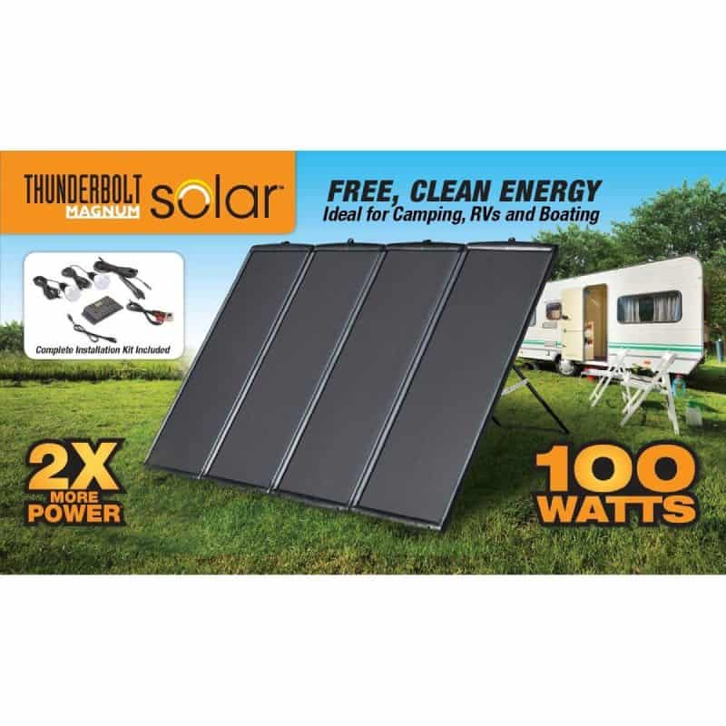 Thunderbolt Magnum Solar 100 Watt Review - The Solar Advantage