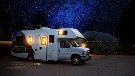 solar panels for a RV