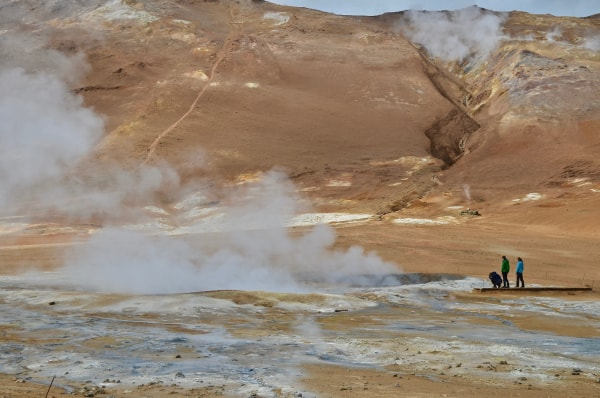 how does Geothermal Energy compare to Fossil Fuels